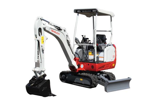 Mini digger hire Kildare Machine 1