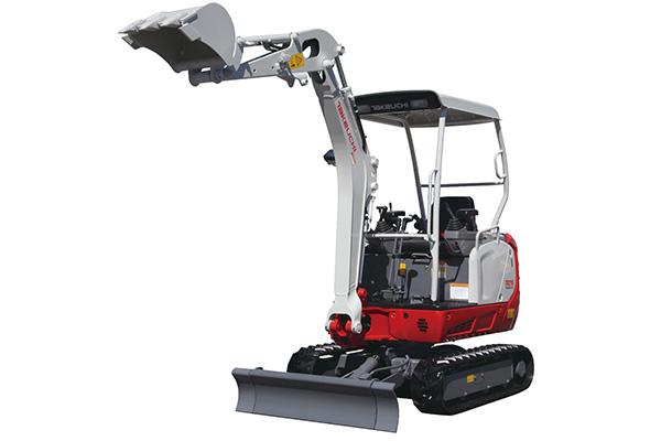 Mini digger hire in kildare machine two